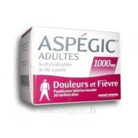 ASPEGIC ADULTES 1000 mg, poudre pour solution buvable en sachet-dose 20 à ESSEY LES NANCY