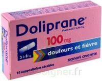 DOLIPRANE 100 mg Suppositoires sécables 2Plq/5 (10) à ESSEY LES NANCY