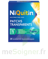 NIQUITIN 21 mg/24 heures, dispositif transdermique Sach/28 à ESSEY LES NANCY