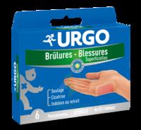 URGO BRULURES-BLESSURES PETIT FORMAT x 6 à ESSEY LES NANCY