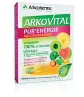 Arkovital Pur'Energie Multivitamines Comprimés dès 6 ans B/30 à ESSEY LES NANCY