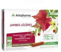 Arkofluide Bio Ultraextract Solution buvable jambes légères 20 Ampoules/10ml à ESSEY LES NANCY