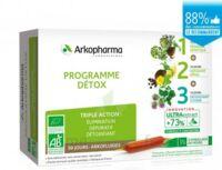 Arkofluide Bio Ultraextract Coffret programme détox 3x10 Ampoules/10ml à ESSEY LES NANCY