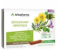 Arkofluide Bio Ultraextract Solution buvable détoxifiant hépatique 20 Ampoules/10ml à ESSEY LES NANCY