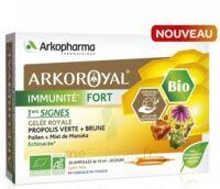 Arkoroyal Immunité Fort Solution buvable 20 Ampoules/10ml à ESSEY LES NANCY