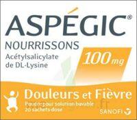 ASPEGIC NOURRISSONS 100 mg, poudre pour solution buvable en sachet-dose à ESSEY LES NANCY