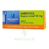 AMBROXOL BIOGARAN CONSEIL 30 mg, comprimé sécable à ESSEY LES NANCY
