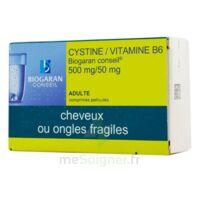 CYSTINE/VITAMINE B6 BIOGARAN CONSEIL 500 mg/50 mg Cpr pell Plq/120 à ESSEY LES NANCY