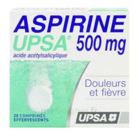 ASPIRINE UPSA 500 mg, comprimé effervescent à ESSEY LES NANCY
