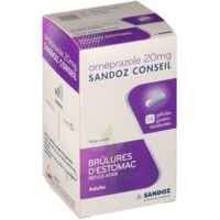 OMEPRAZOLE SANDOZ CONSEIL 20 mg Gél gastro-rés Plq/14 à ESSEY LES NANCY