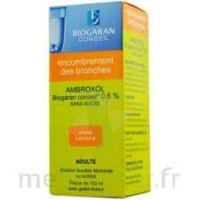 AMBROXOL BIOGARAN CONSEIL 0,6 % Solution buvable sans sucre édulcorée au sorbitol Fl/100ml+godet à ESSEY LES NANCY