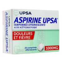 ASPIRINE UPSA TAMPONNEE EFFERVESCENTE 1000 mg, comprimé effervescent à ESSEY LES NANCY