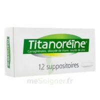 TITANOREINE Suppositoires B/12 à ESSEY LES NANCY