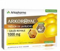 Arkoroyal Gelée royale 1000 mg Solution buvable 20 Ampoules/10ml à ESSEY LES NANCY