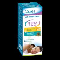 Quies Bi-Pack 2 Sprays buccal et nasale anti-ronflement à ESSEY LES NANCY