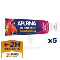 Apurna Gel énergie longue distance Fruits rouges 5*35g à ESSEY LES NANCY