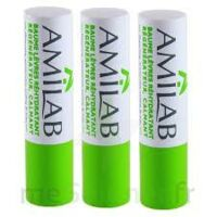Amilab Baume labial réhydratant et calmant lot de 3 à ESSEY LES NANCY