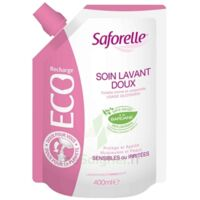 Saforelle Solution soin lavant doux Eco-recharge/400ml à ESSEY LES NANCY