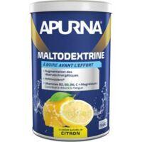 Apurna Maltodextrine Poudre pour boisson citron 100% naturel B/500g à ESSEY LES NANCY