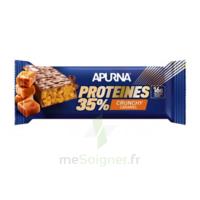 Apurna Barre hyperprotéinée crunchy caramel 45g à ESSEY LES NANCY