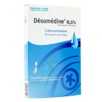 DESOMEDINE 0,1 % Collyre sol 10Fl/0,6ml à ESSEY LES NANCY